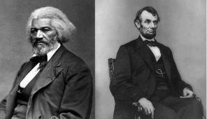 Image result for frederick douglass and abraham lincoln