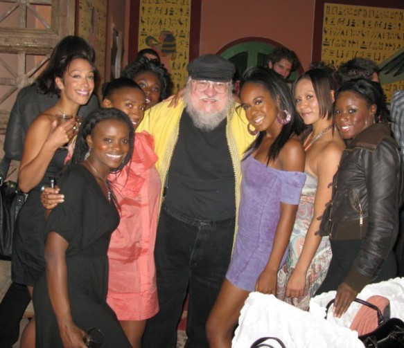 George RR Martin and friends