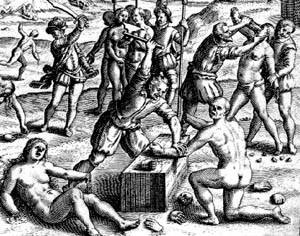 the abuse of the indians in bartolome de las casas a brief account of the devastation of the indians Buy a short account of the destruction of the to these atrocities and demand that the indians be entitled to the bartolome de las casas was born in.