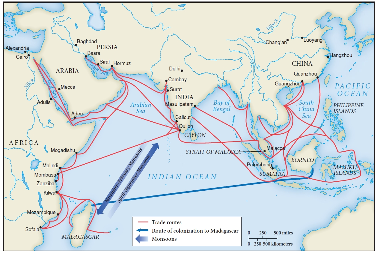 indian ocean trade Indian textiles in the indian ocean trade in the early modern period om  prakash the indian ocean is by far the oldest of the seas in history, in terms of it .