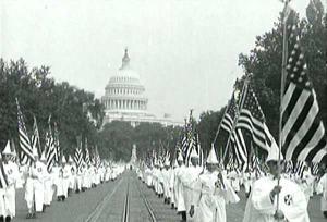 Klan march