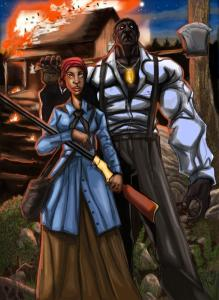 Steamfunk Harriet Tubman fights slavery and the supernatural within the pages of Steamfunk.