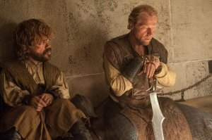 Jorah and Tyrion