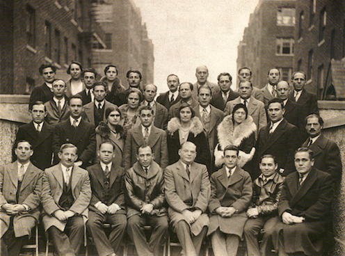 Early residents of the United Workers Cooperative Colony